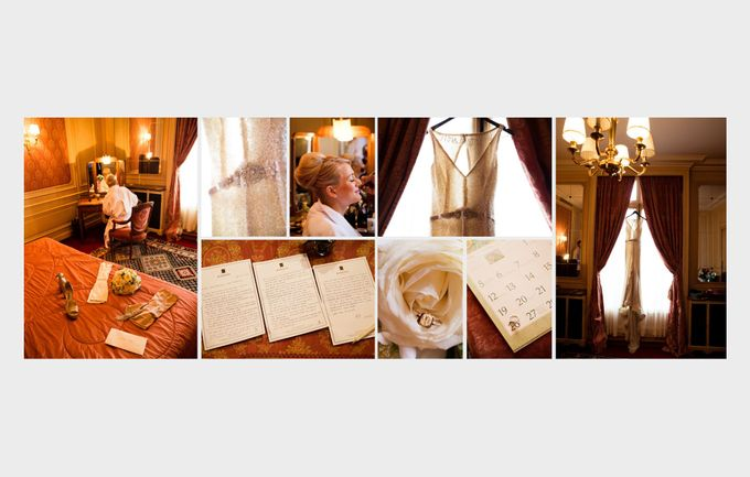 A romantic Parisian Wedding by gm photographics - 004