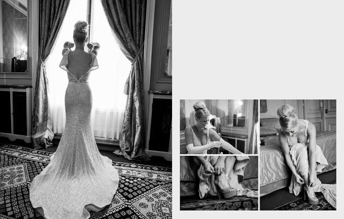 A romantic Parisian Wedding by gm photographics - 007