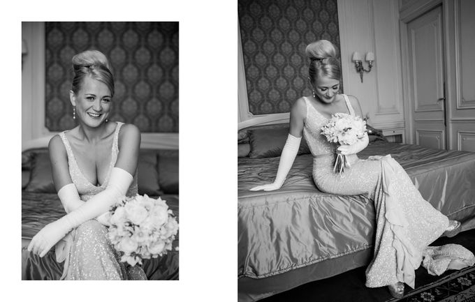 A Parisian Wedding - Lauren & Mitch by gm photographics - 008