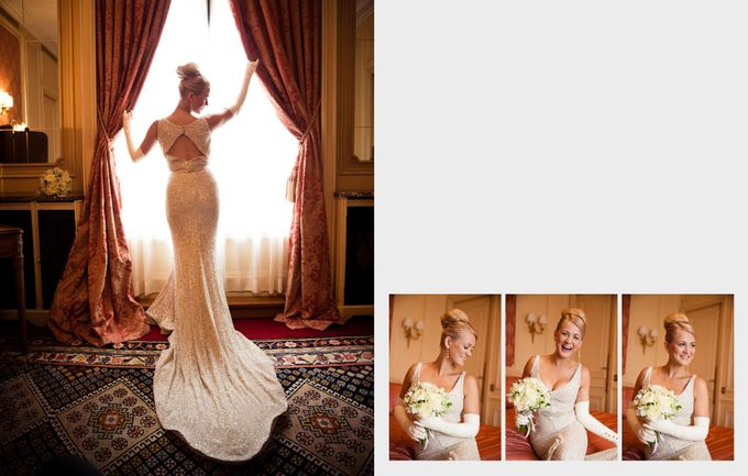 A Parisian Wedding - Lauren & Mitch by gm photographics - 010