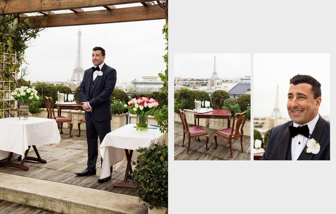 A romantic Parisian Wedding by gm photographics - 011