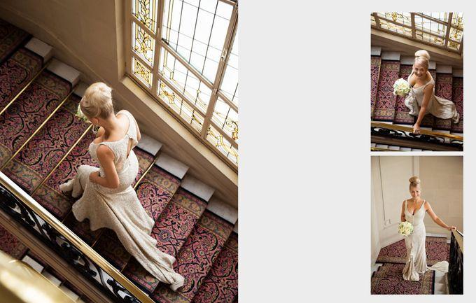 A romantic Parisian Wedding by gm photographics - 012