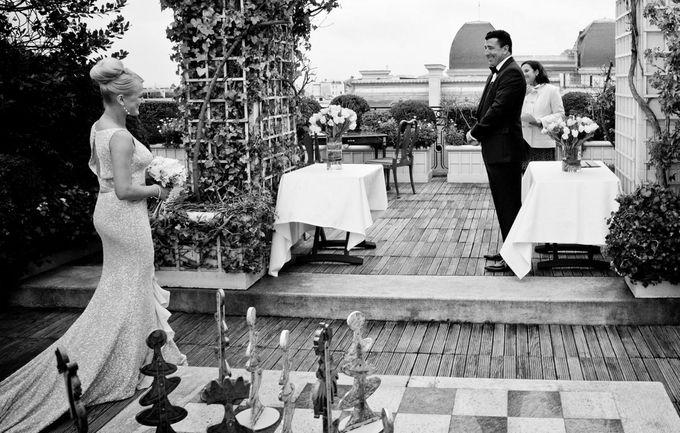 A romantic Parisian Wedding by gm photographics - 013