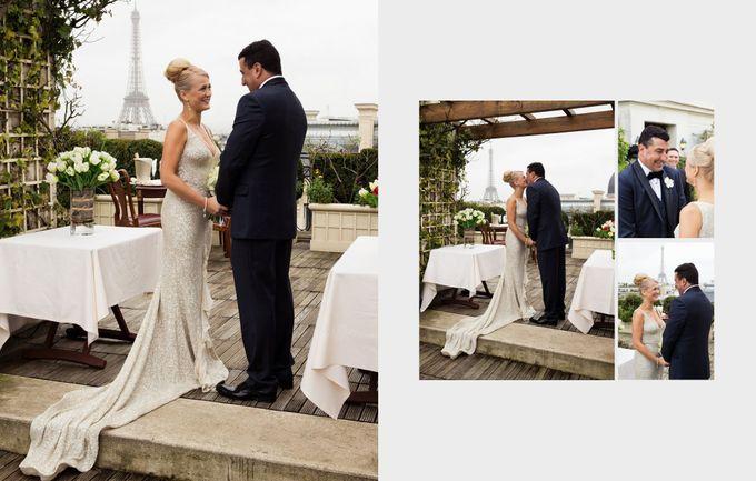 A romantic Parisian Wedding by gm photographics - 014