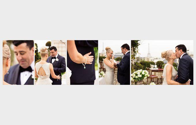 A romantic Parisian Wedding by gm photographics - 017