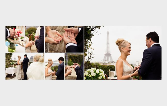 A romantic Parisian Wedding by gm photographics - 018
