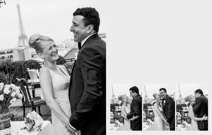 A romantic Parisian Wedding by gm photographics - 019