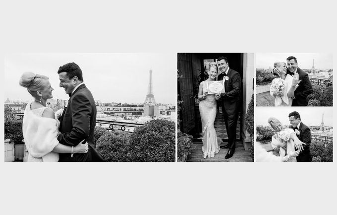 A romantic Parisian Wedding by gm photographics - 021