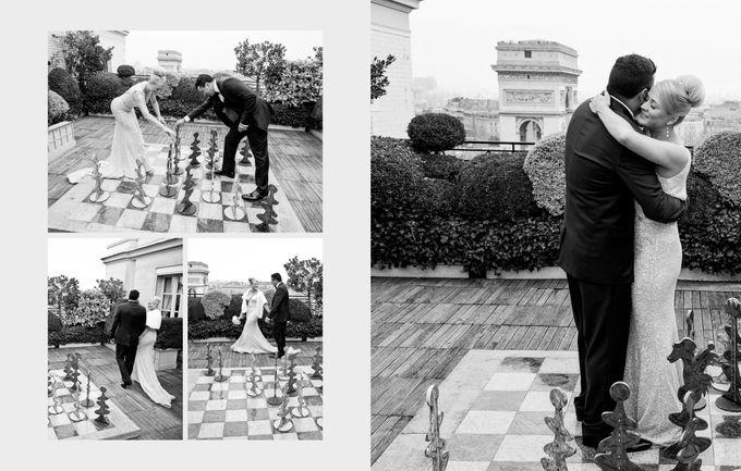 A romantic Parisian Wedding by gm photographics - 022