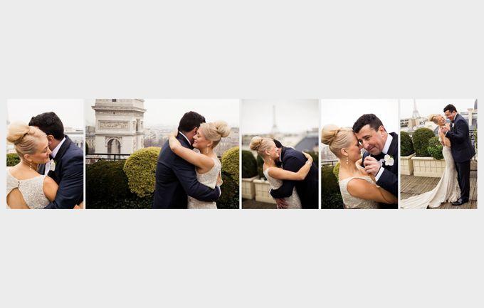 A romantic Parisian Wedding by gm photographics - 023