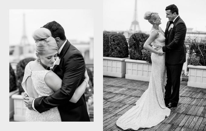 A romantic Parisian Wedding by gm photographics - 024