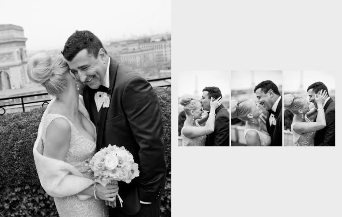 A romantic Parisian Wedding by gm photographics - 025