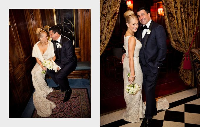 A romantic Parisian Wedding by gm photographics - 028