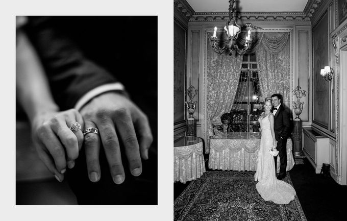 A romantic Parisian Wedding by gm photographics - 029