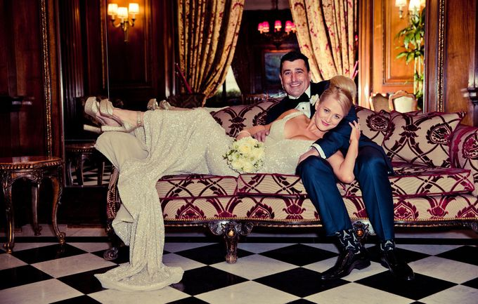 A romantic Parisian Wedding by gm photographics - 031
