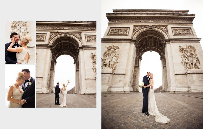 A romantic Parisian Wedding by gm photographics - 032