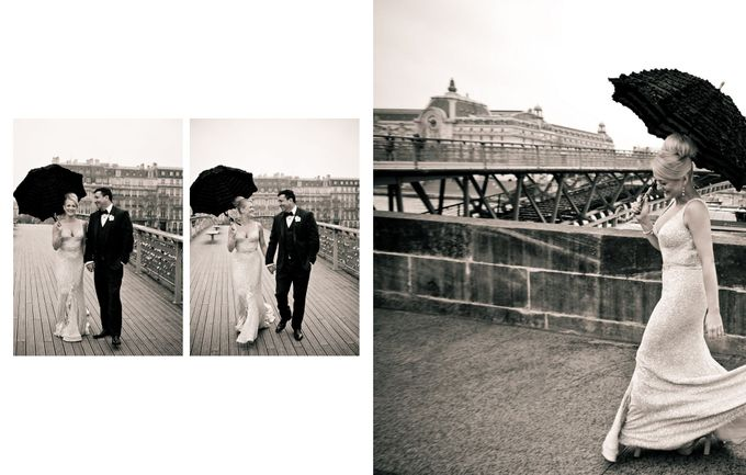 A Parisian Wedding - Lauren & Mitch by gm photographics - 033