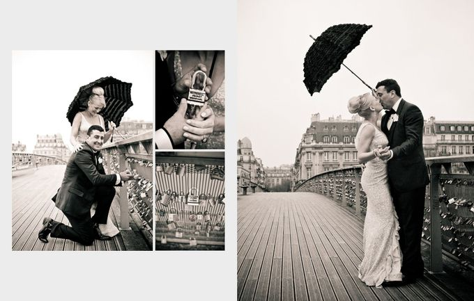 A romantic Parisian Wedding by gm photographics - 034