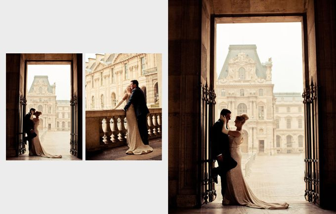 A romantic Parisian Wedding by gm photographics - 035