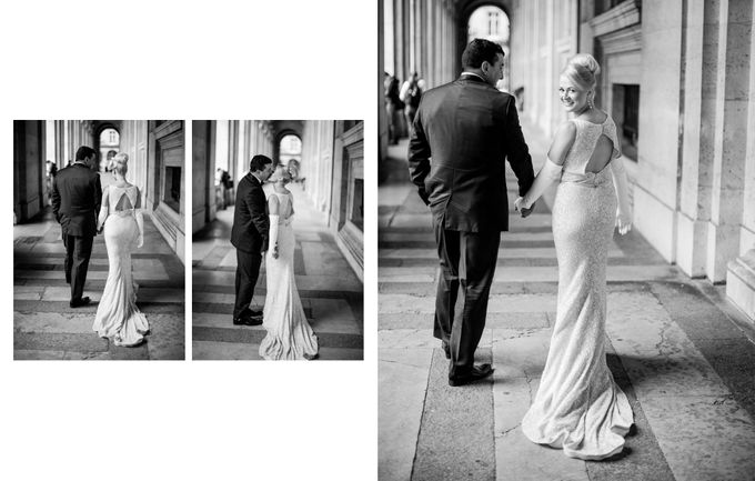 A romantic Parisian Wedding by gm photographics - 036