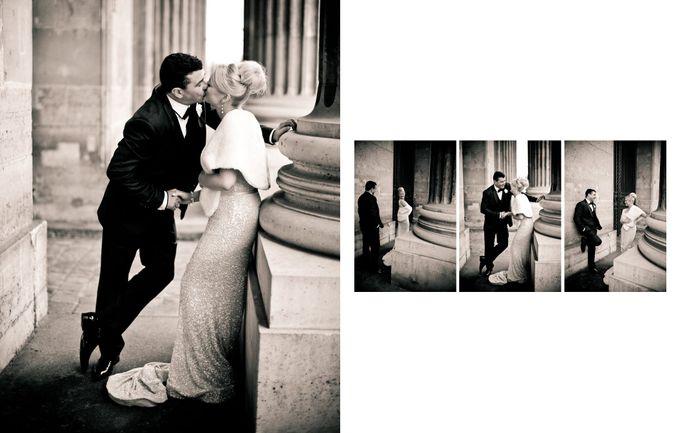 A romantic Parisian Wedding by gm photographics - 037