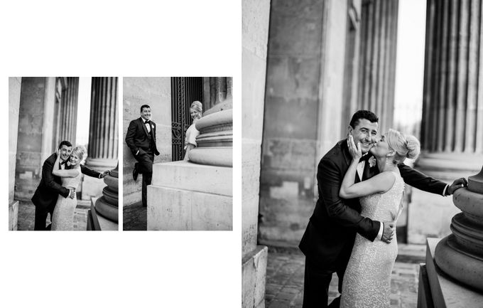 A romantic Parisian Wedding by gm photographics - 039
