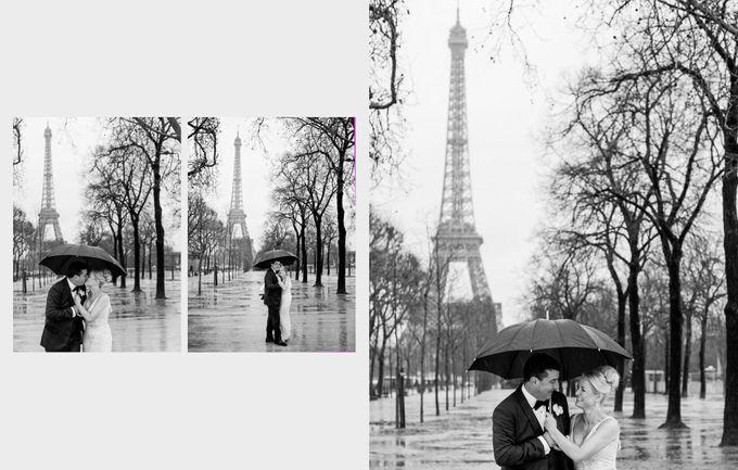 A romantic Parisian Wedding by gm photographics - 041
