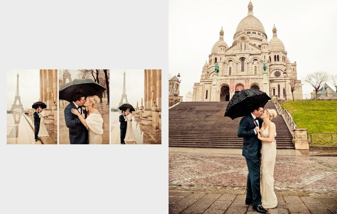 A romantic Parisian Wedding by gm photographics - 043
