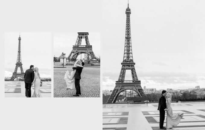 A romantic Parisian Wedding by gm photographics - 044