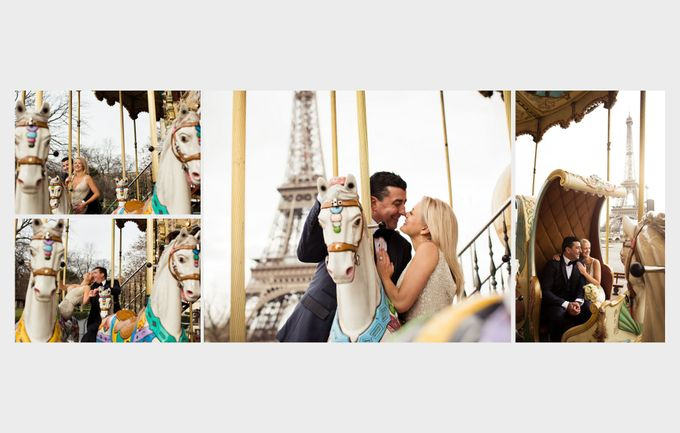 A romantic Parisian Wedding by gm photographics - 045