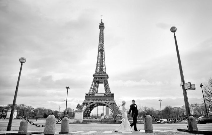 A romantic Parisian Wedding by gm photographics - 046