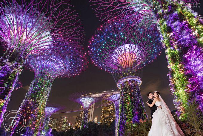Coastal settlement singapore wedding