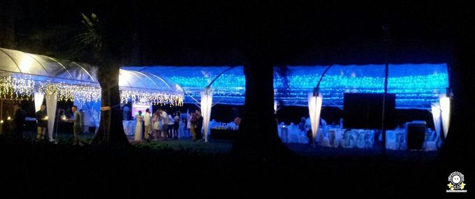 Tent Rental & Decoration for Garden Wedding by Glammories - 012