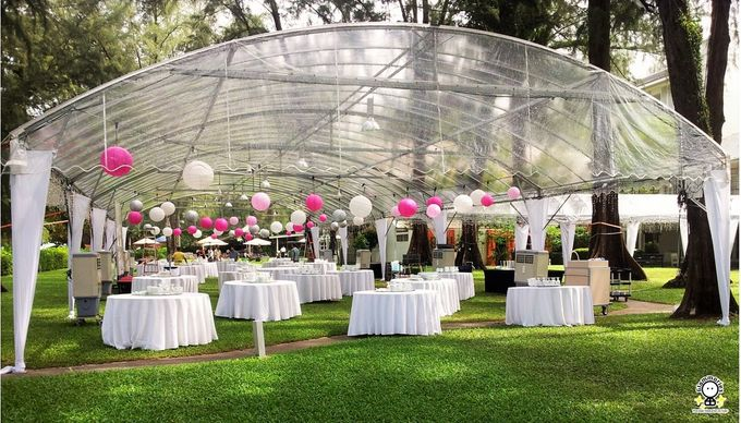 Tent Rental & Decoration for Garden Wedding by Glammories - 004
