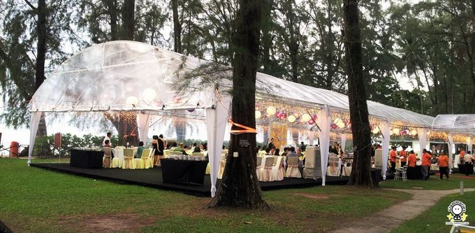 Tent Rental & Decoration for Garden Wedding by Glammories - 013