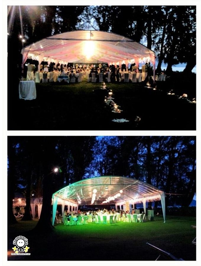 Tent Rental & Decoration for Garden Wedding by Glammories - 009