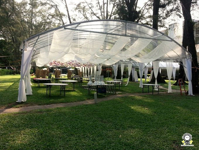 Tent Rental & Decoration for Garden Wedding by Glammories - 021