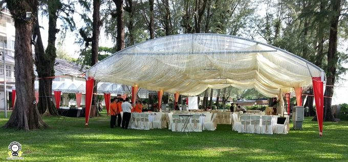 Tent Rental & Decoration for Garden Wedding by Glammories - 015