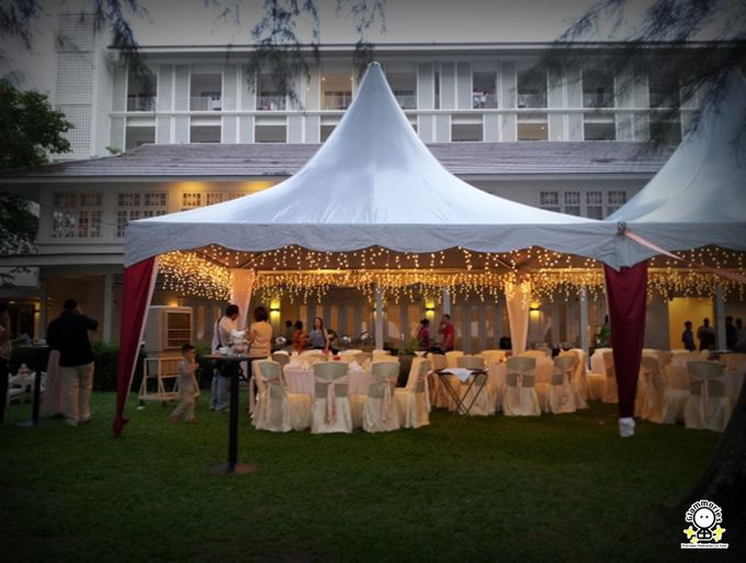Tent Rental & Decoration for Garden Wedding by Glammories - 001