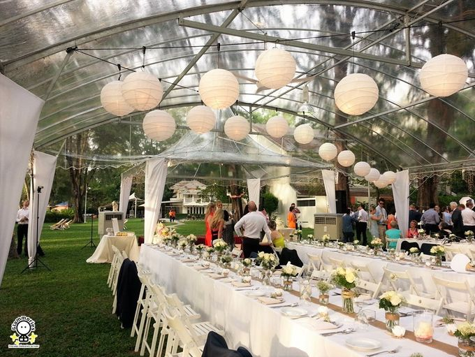 Tent Rental & Decoration for Garden Wedding by Glammories - 006