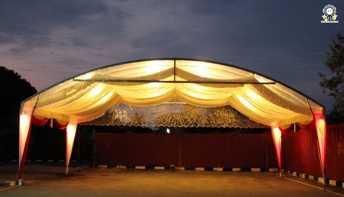 Tent Rental & Decoration for Garden Wedding by Glammories - 020