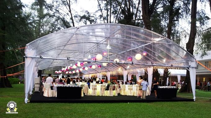Tent Rental & Decoration for Garden Wedding by Glammories - 022