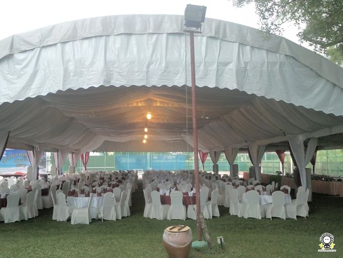 Tent Rental & Decoration for Garden Wedding by Glammories - 007