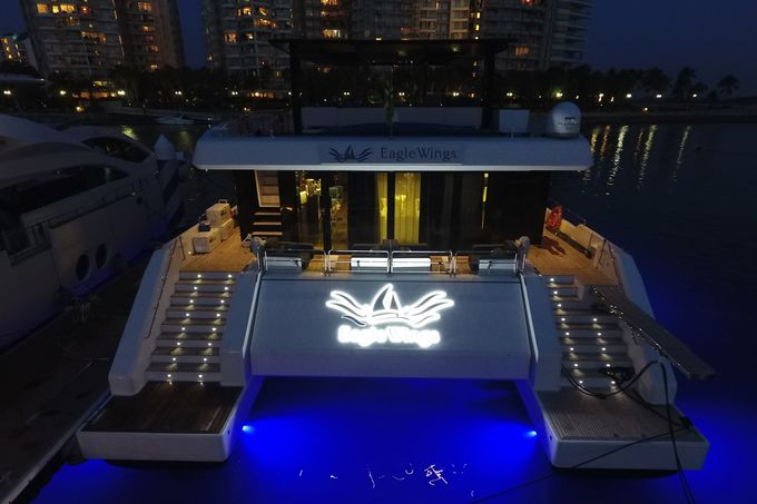 Yacht Charter for Memorable Wedding by Eagle Wings Yacht Charters Pte Ltd - 002
