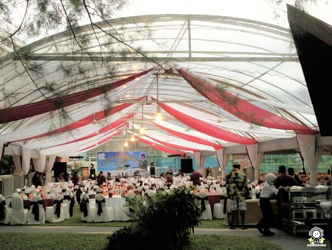 Tent Rental & Decoration for Garden Wedding by Glammories - 005