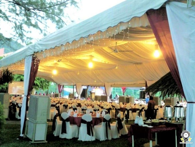 Tent Rental & Decoration for Garden Wedding by Glammories - 014
