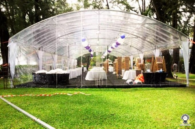 Tent Rental & Decoration for Garden Wedding by Glammories - 010