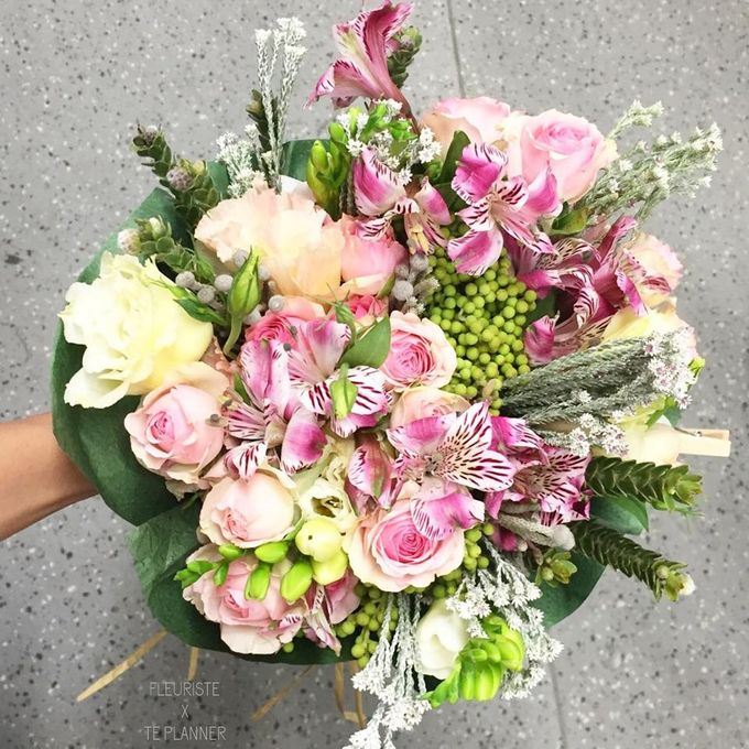 Flowers Bouquet by Te Planner - 006