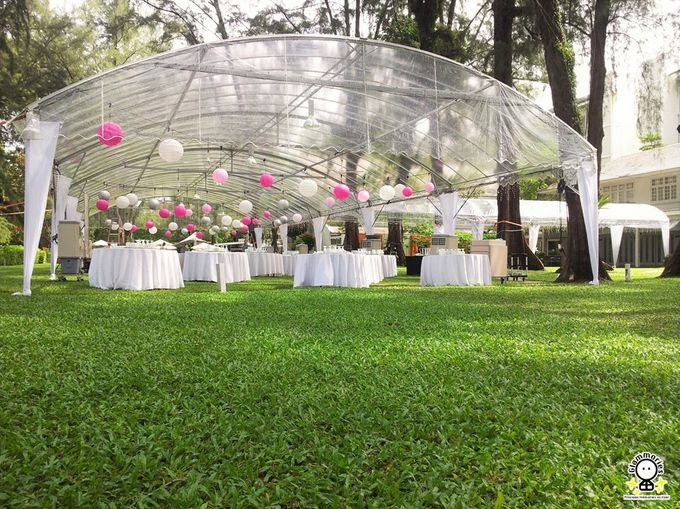 Tent Rental & Decoration for Garden Wedding by Glammories - 019
