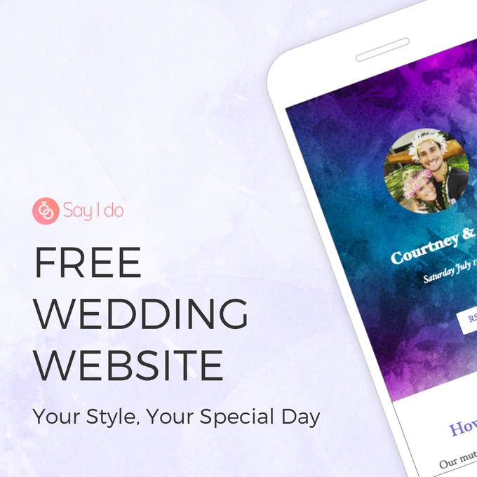 Wedding Websites by Say I do - 001
